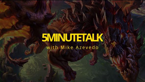 Mike Azevedo 5 Minute Talk The Game Workshop